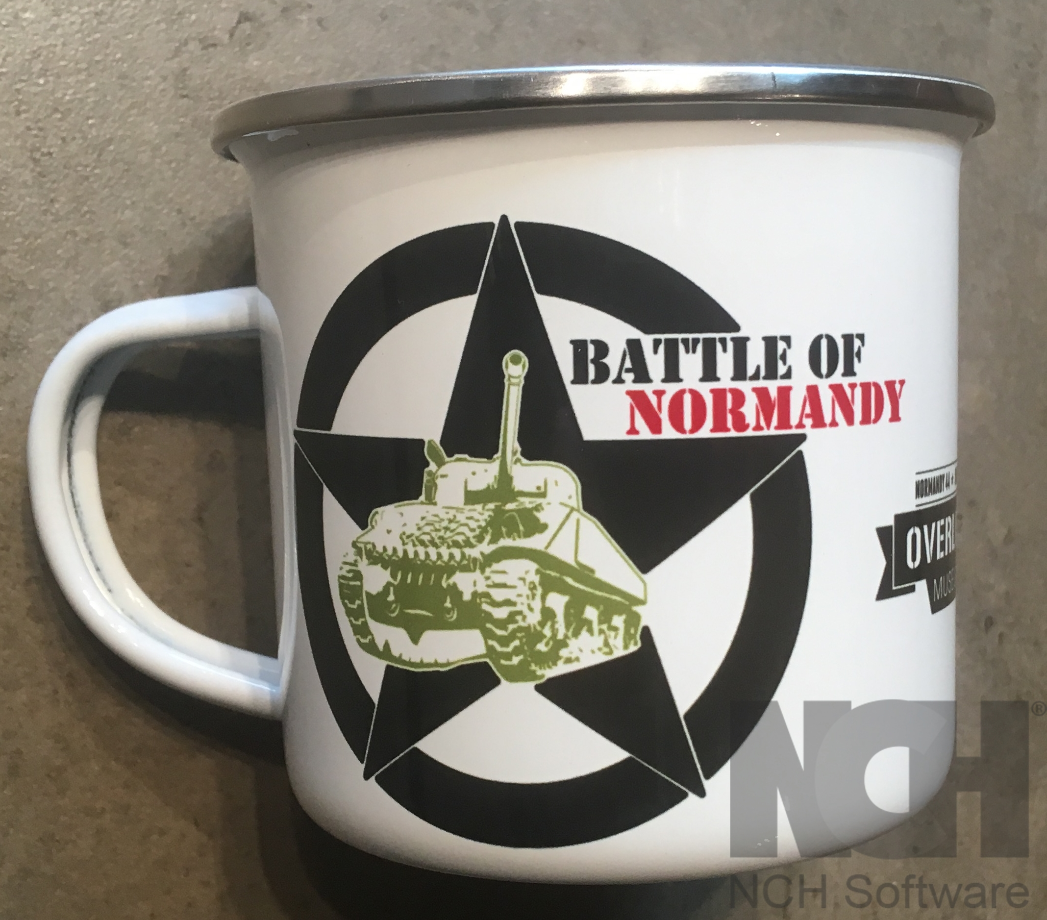Mug émaillé Battle