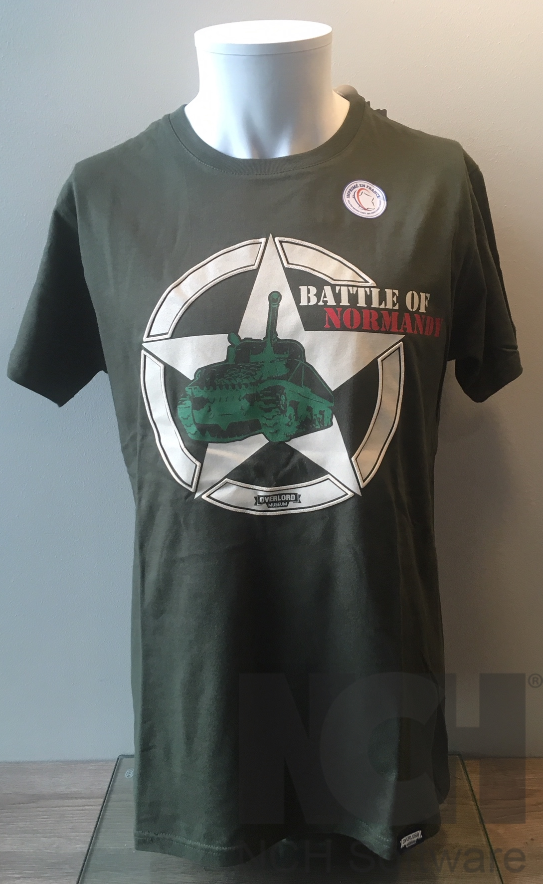 Tee-shirt Battle kaki